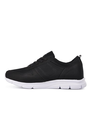 CRUSH 652 Siyah-Beyaz Erkek Spor Ayakkabı Siyah